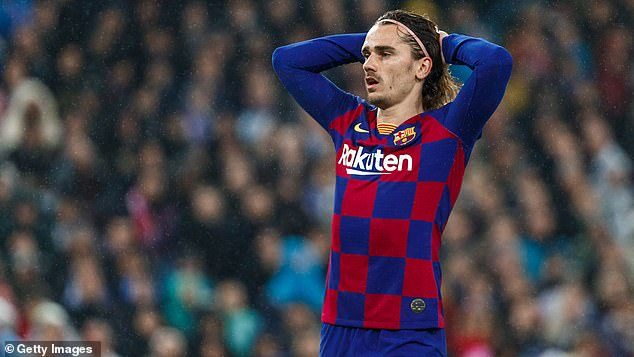 Griezmann was promised the role of Messi by Ronald Koeman but those plans have changed