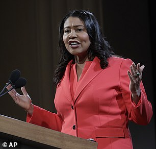 Pictured: San Francisco Mayor London Breed