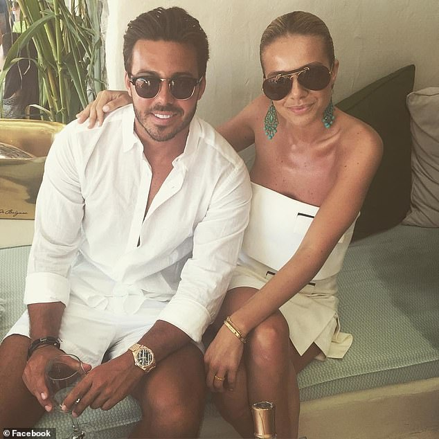 Kelsea Nagel Doyle (right) sat in the New South Wales District Court while her partner Matthew, 32 (left), was handed his lengthy sentence on Friday