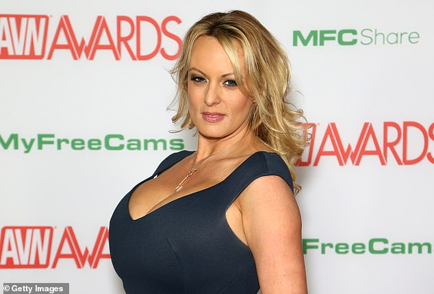Cohen wrote that Trump allegedly said that his supporters would 'think it¿s cool that I slept with a porn star,' of the Stormy Daniels (in 2019) payoff scandal