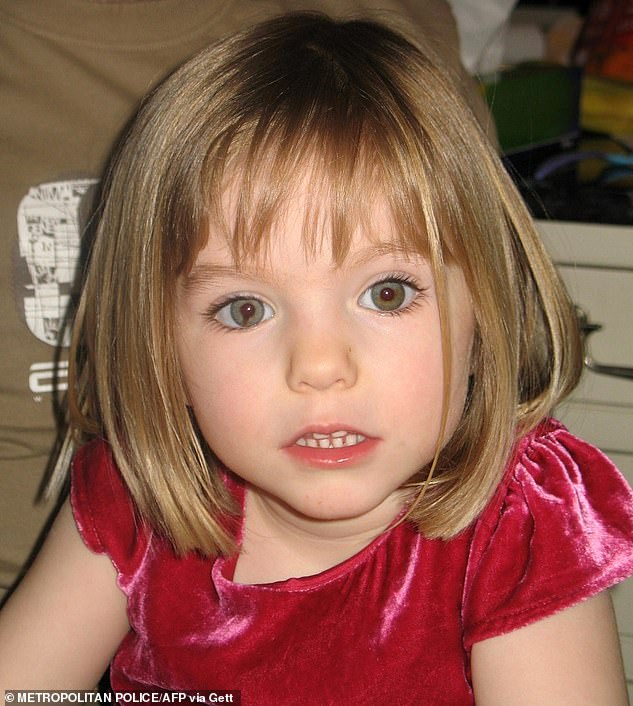 A German woman, now 23, claims she recognised Christian Brueckner from TV as the man who grabbed her on Salema beach in April 2007, just weeks before Madeleine McCann (pictured) was abducted