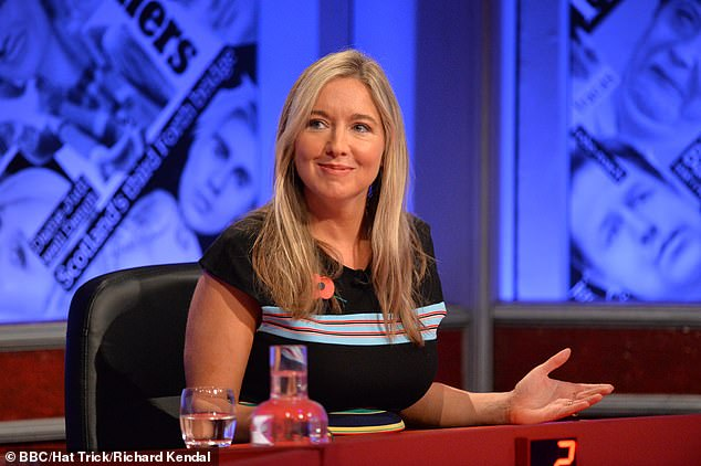 Regular panellist Victoria Coren Mitchell, who has also hosted the show, also slammed claims the show was too left-wing