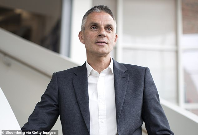 Sergeant praised new director-general Tim Davie (pictured) for pulling a U-turn on the BBC's decision not to have Rule, Britannia! and Land of Hope and Glory sung at The Last Night of the Proms