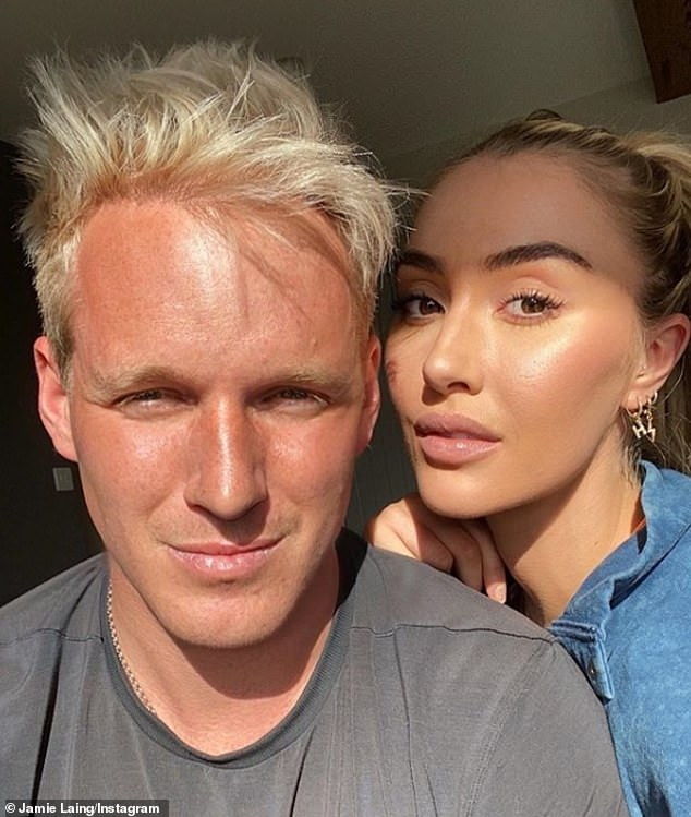Not worried! Jamie Laing has insisted that the infamous Strictly curse won't come between him and his long-term girlfriend Sophie Habboo