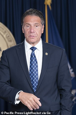 Cuomo suggested New York City could deploy police officers to ensure compliance with safety guidelines such as mask-wearing and capacity limits