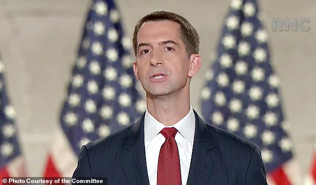 Arkansas Sen. Tom Cotton, a Republican, introduced legislation that would ban schools from teaching the 1619 Project through the Saving American History Act of 2020