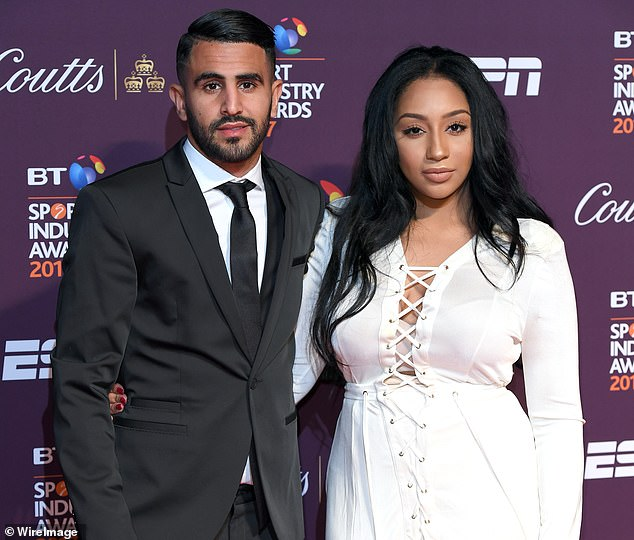 Rita Mahrez, 26, is said to have met Joshua during a night out at an exclusive London nightclub