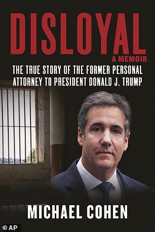 Cohen'smemoir bookshelves Tuesday, despite his currently serving out a three-year federal prison sentence