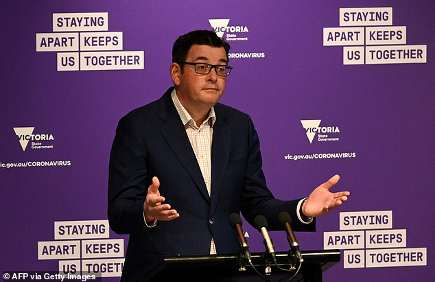 Premier Daniel Andrews has been blasted by politicians, small businesses and public figures over his decision to extend draconian stage four lockdown for another two weeks