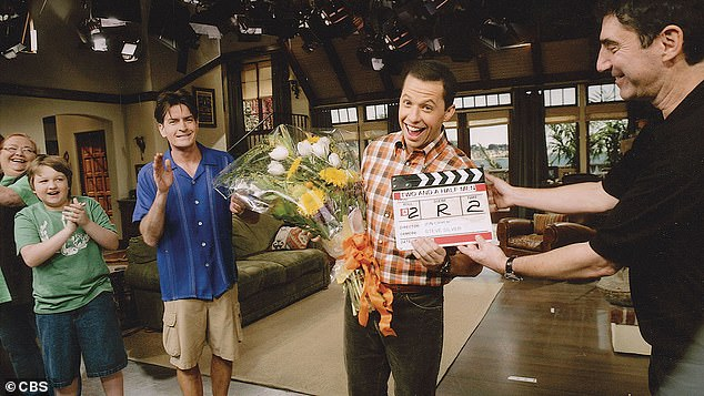 Two and a Half Men: Technically, Cryer received two Emmy Awards for his portrayal of struggling chiropractor Alan Harper in all 262 episodes of the CBS sitcom, which aired for 12 seasons between 2003–2015