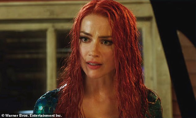 Clash: The Hidden Palms star is said to have claimed she's due to film Aquaman 2 in February 2021 (pictured in first edition in 2018)