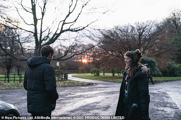 Scenes: The actors filmed the show in Northern Ireland and Cambridge, with some scenes being filmed overnight on a large country estate