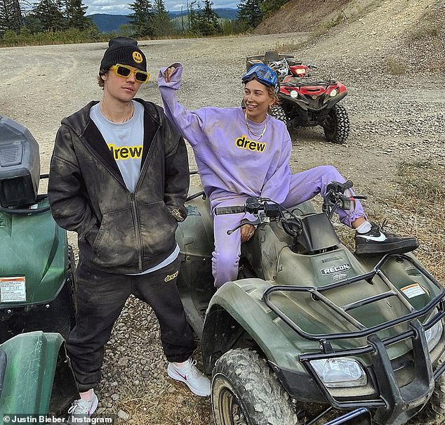 ATV: Justin and Hailey Enjoy Muddy ATV Day While Vacationing Idaho For Vacation Weekend