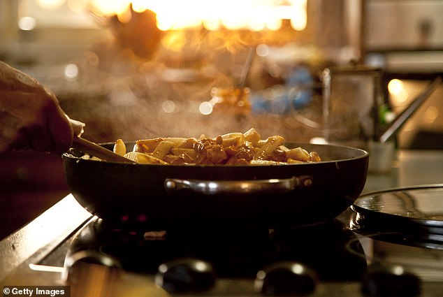 While we are all sometimes guilty of cooking in a rush, that doesn't mean you should quickly throw everything into your pan and over-crowd it (stock image)