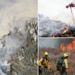 Gender Reveal Party Sparked Huge El Dorado Wildfire Which Has Burned 7 050 Acres In California Daily Mail Online