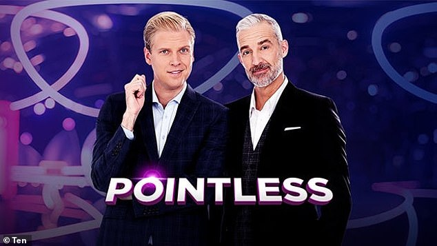 The 78-week discrepancy amounts to $393,371.10, documents lodged to the Federal Court on 31 August show. Pictured: The cast of Pointless