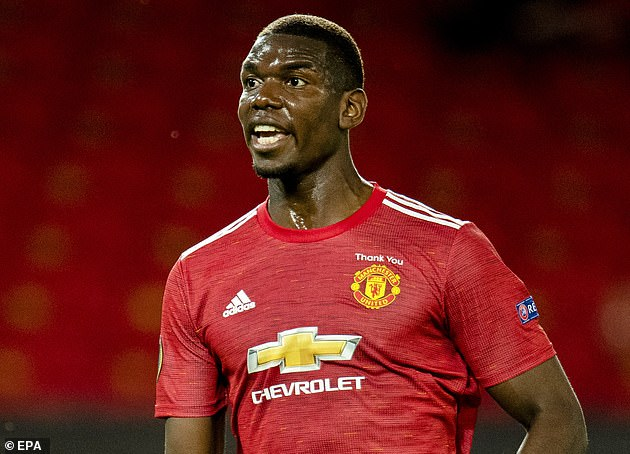 Man United's Paul Pogba is another top player to test positive for coronavirus
