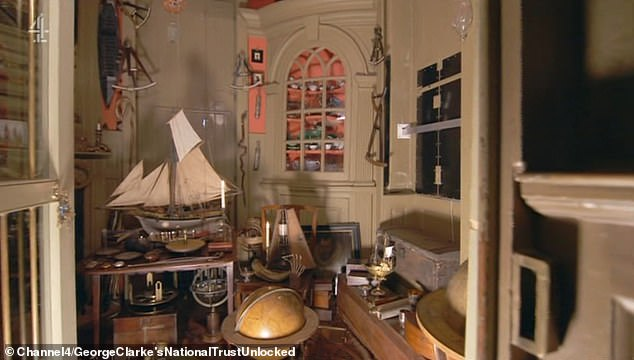 Charles Paget Wade started collecting when he was seven years old - and he never stopped amassing an enormous 22, 000 objects. Pictured, some of the collection