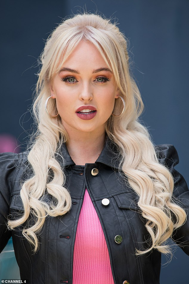 Comeback: The 32-year-old actress will reprise her role as Theresa McQueen on the Channel 4 soap later this autumn and admitted she's 'a bit nervous' about it
