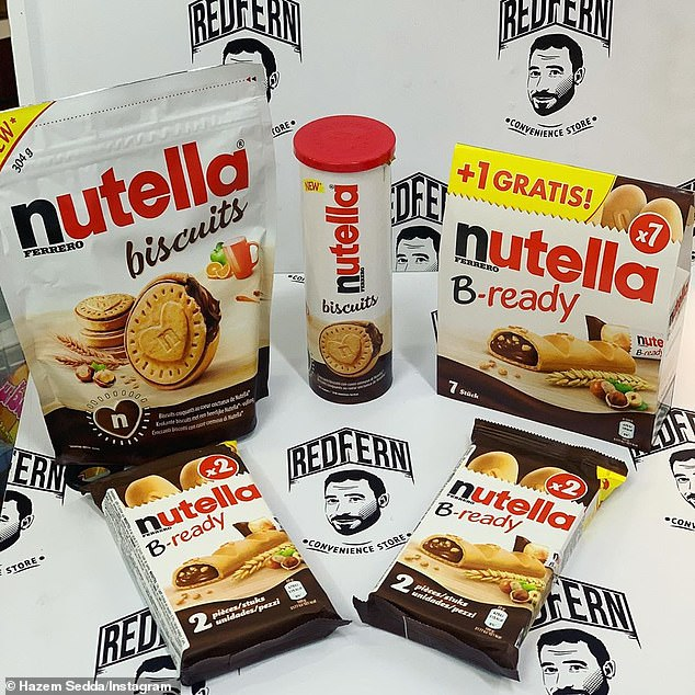 Redfern Convenience Store in Sydney's inner-city has announced it has taken delivery of Nutella's in-demand new range of biscuits - as well as the popular B-ready bar
