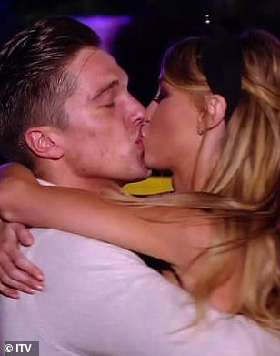 Hold me close: She enjoyed a romance with Lewis Bloor
