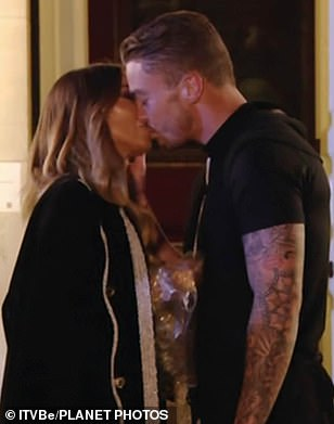 Oh dear:Lauren hooked up with show newbie Sam last year, however their romance was fleeting