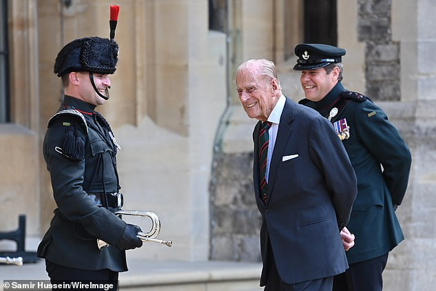 The Duchess was handed the role of the Colonel-in-Chief of The Rifles by Prince Philip earlier this year