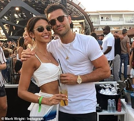 His love:In 2015, Mark married Coronation Street star Michelle Keegan in an idyllic ceremony at St Mary¿s Church in Bury St Edmonds, where he arrived in a Hummer limo