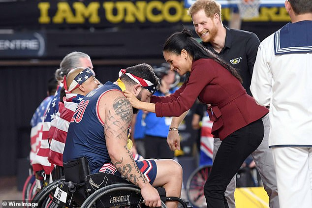 Lawyers for the couple say the fundraiser was cancelled as it was 'no longer viable,' due to Covid-19. TheDuchess of Sussex met athletes during the Wheelchair Basketball Final at the Invictus Games in 2018