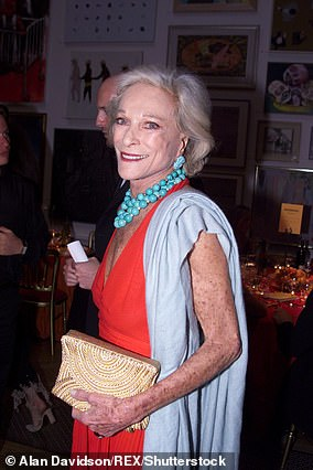 From Yves Saint Laurent muse to Dior disco queen, Nan Kempner (pictured in 2001) lit up the New York fashion scene for more than 40 years