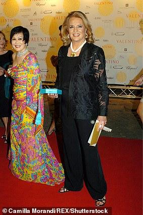 Princess Ira von Furstenberg seen in 2007 in Rome, Italy