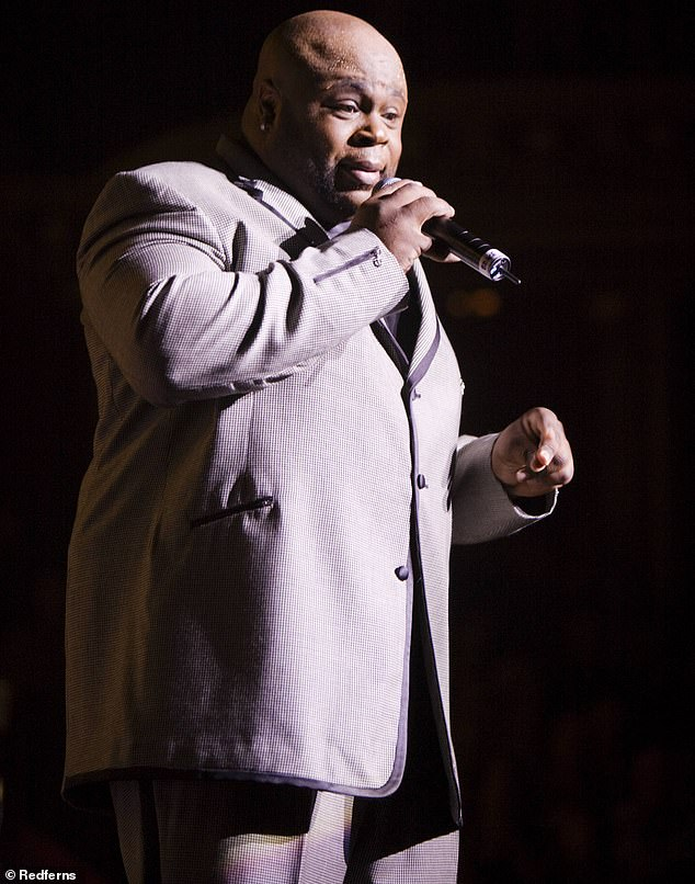 Gone too soon: Bruce Williamson, the lead singer of legendary band The Temptations, has died after a battle with COVID-19