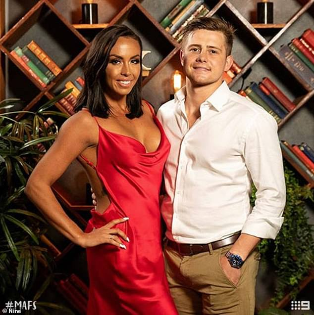 Remember me?Natasha, who rose to fame after she was paired with Mikey Pembroke (right) on MAFS, has ditched her marketing job and has reapplied for university to do an honours degree in psychology