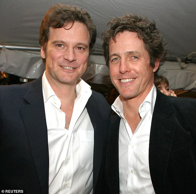 Colin Firth (left) and Hugh Grant (right) both celebrate their 60th birthdays this week
