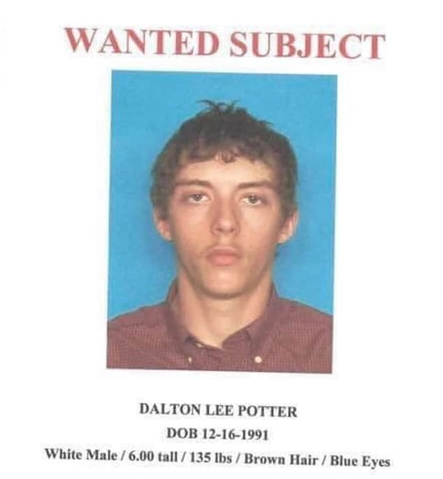 Potter, from Leakey, Texas, was driving a white Chevrolet Tahoe with a stolen trailer behind