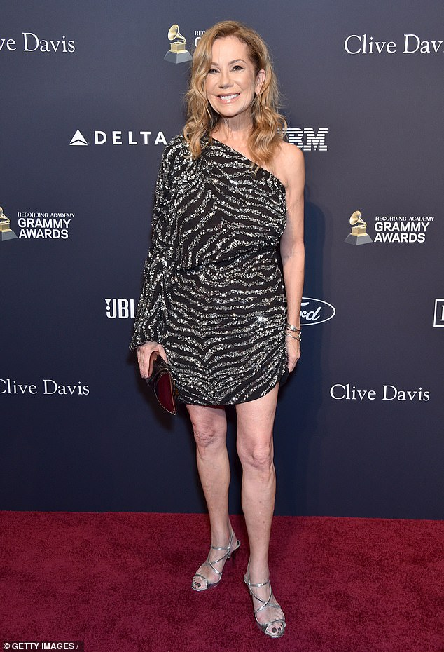 Double the celebrations: It was the second big celebration of the year for Kathie Lee, whose daughter Cassidy got married in June to Ben Weirda; pictured in January in Beverly Hills