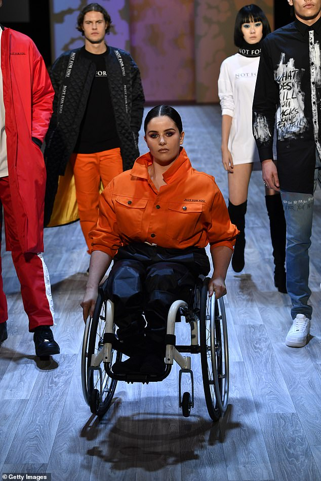Runway model and Paralympic champion Rebecca Dubber (pictured above at New Zealand Fashion Week 2019) has shared her experiences of dating with a disability
