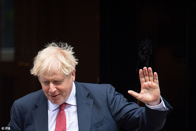 Boris Johnson has led the UK's hardline stance on Brexit, as a fresh round of negotiations resumes today