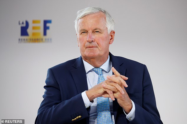 The EU's chief Brexit negotiatorMichel Barnier warned that 'respecting' the Withdrawal Agreement was a 'precondition' for settling the future relationship