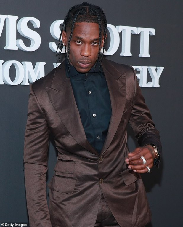 Celebrity food: Travis Scott, shown in Santa Monica, California in August 2019, will launch his own McDonald's meal on Tuesday in restaurants across the United States.