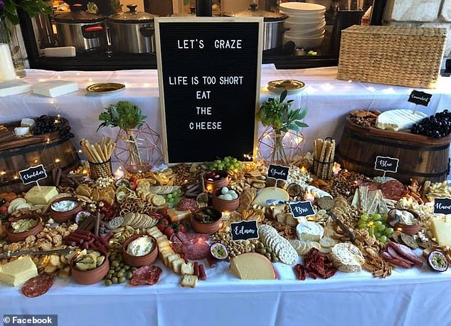 Founder of KD Grazing Veronika Gentile recommends that you keep everything on your board as fresh as possible if you want to create the perfect platter