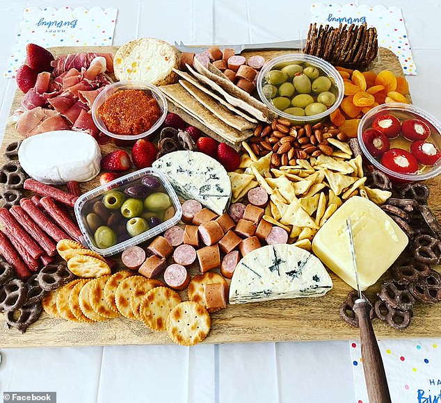 Foodies have shown off the incredible grazing platters they have put together at home using budget groceries and buys from the likes of Kmart, Big W and Bunnings Warehouse