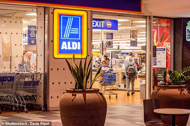 The mother, from New South Wales, claimed she was queuing up to pay for her items, including alcohol, when a diligent cashier called over a manager to ask whether she could serve her as she was shopping with her school children (file image)