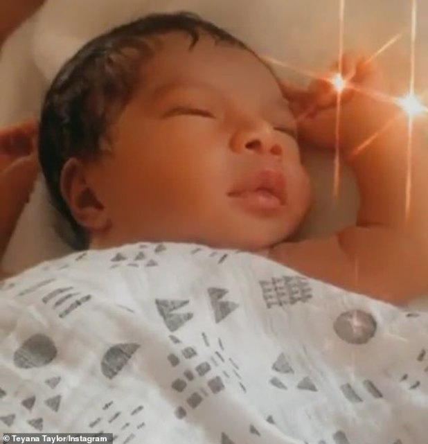 Black love: NBA pro continued: 'A healthy baby.  A younger sister.  One more daughter.  Black wins love .... again.  Welcome baby… we love you!  @babyruerose '