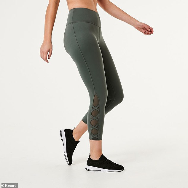 A pair of $18 leggings from Kmart has caught the attention of shoppers online for their comfortable fit and ankle-length coverage