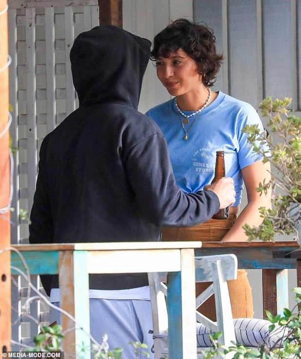 From waiting lists to landing A-list candy: how Zac Efron's girlfriend Vanessa Valladares quit her job at the Byron Bay Cafe, where they met and quickly moved in with her.  Painted with Zac when she was working at the Byron Bay General Store Cafe on Wednesday, July 1