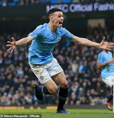 Foden is also highly rated by Manchester City. The club says the player's actions were 'totally inappropriate'