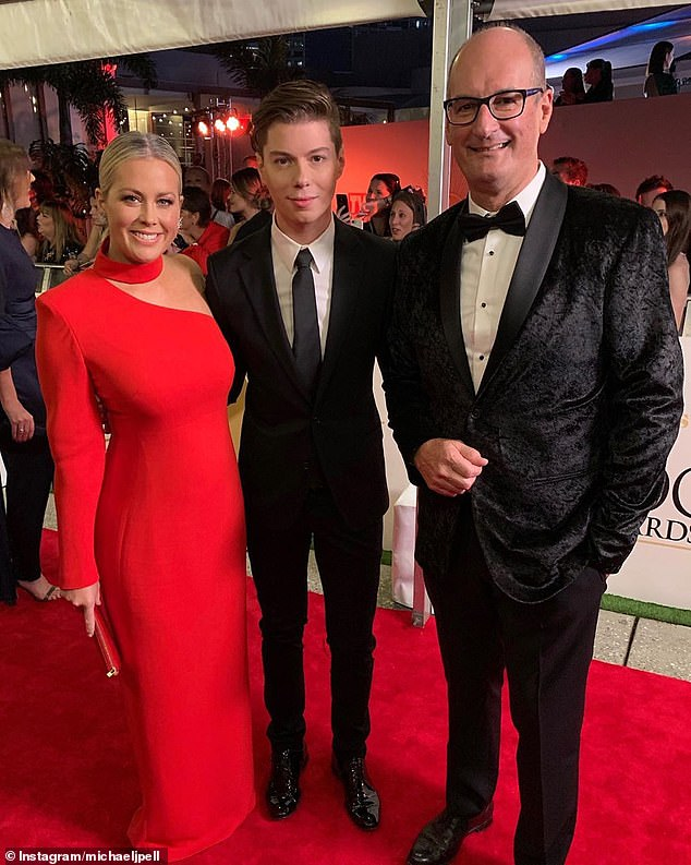So what sparked Today's turnaround? Why don't we just ask Sunrise executive producer Michael Pell (centre) who threw fuel on the fire in January when he said:'When you watch Sunrise you feel warm and happy, and doesn't the world need a bit of that right now?'