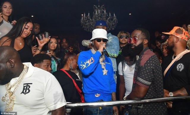 ATLANTA, GEORGIA: Rapper Future attends The Biggest Labor Day Takeover at Compound on Saturday in Atlanta