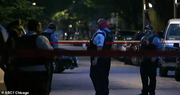 On Monday, an eight-year-old girl was shot dead while inside a parked car on the city's South Side